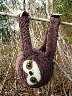 Oops, I Craft My Pants: Baby Sloth Plush!