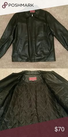 Mens leather jacket Layered leather jacket  100% leather Excelled Mens Collection  Jackets & Coats