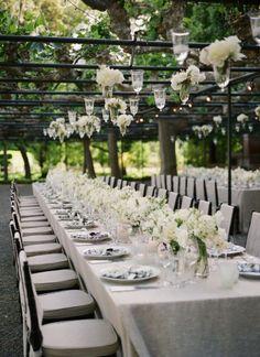 ROMANTIQUE WEDDING RECEPTION DECORATIONS | Ideas Outdoor Wedding Decorations Pink A Ceremony Aisle - kootation ...