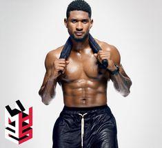 Men's Health 25th Anniversary Issue: Usher Cover   Men's Health