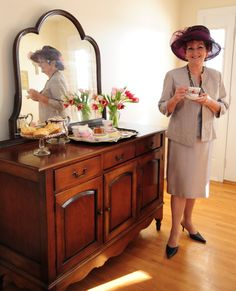 "The Fashion Archives & Museum (FA&M) is pleased to invite its friends and supporters to an afternoon tea and program featuring Judy Larkin, also known as the ""Tea Lady"" (see photo) Her lecture, titled ""Something Old...Something New"" will explore wedding teas, etiquette, history, and superstitions."