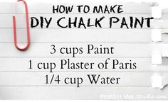 The Step-By-Step Guide to DIY Chalk Paint