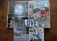 besottment by paper relics: magnetic attraction analysis Journal Spread + Prompt