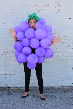 Karnevalskostüme selber machen: Traube