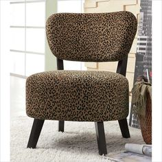 Accent Chair w/ Padded Seat  by  Coaster