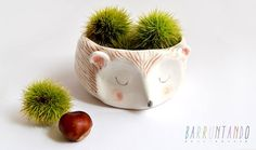 Friday find of whimsical ceramics from a small workshop in Asturias, Spain.