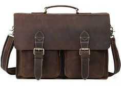 online shopping for S-ZONE Leather Briefcase Messenger Bag inch Laptop Shoulder Corssbody Bag School Satchel Men from top store. See new offer for S-ZONE Leather Briefcase Messenger Bag inch Laptop Shoulder Corssbody Bag School Satchel Men Vintage Leather Messenger Bag, Handmade Leather Wallet, Leather Laptop Bag, Saddle Leather, Leather Briefcase, Leather Satchel, Leather Men, Cowhide Leather, Real Leather