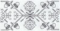 Machine Embroidery Designs at Embroidery Library! - A Classic Blackwork Design Pack - XXL