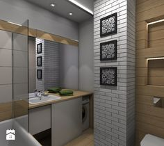 Łazienka, styl rustykalny - zdjęcie od CKkwadrat