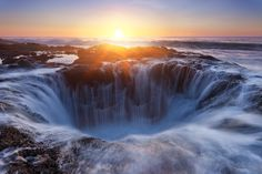 Sunset in the Underworld by Miles Morgan, via 500px