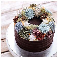 Flower Cakes – Les magnifiques terrariums culinaires de Iven Kawi (image)