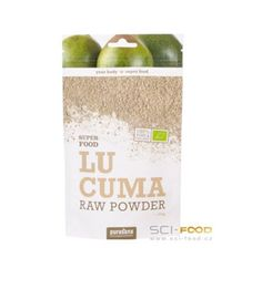 Lucuma je bohatá na pomalé sacharidy = ideální palivo pro tělo. Má přírodní sladkou chuť, žádné nezdravé cukry, ideální pro diabetiky. Nízký glykemický index!
