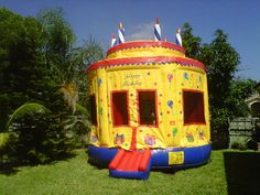 My granddaughter is having her fifth birthday tomorrow. My daughter decided that it would be fun for the kids to rent a bounce house for her daughter's birthday party. It seems like it would be fun, as long as she keeps an eye on her daughter to make sure that she's safe in the bounce house. I'm sure that the other children would love playing in it.