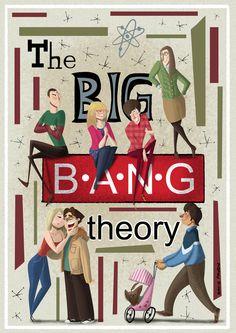 The big bang theory by David Pavon, via Behance