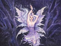 Fairy Dust by Kuoma.deviantart.com on @deviantART One of my favorite artists - Janna Prosvirina