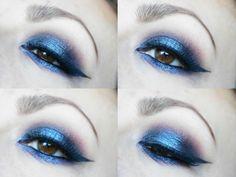 KAYLEIGHKMUA blue sultry smokey eye