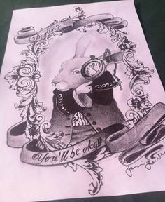Image result for alice in wonderland tattoo sketches