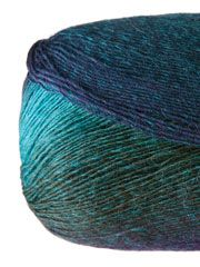 Fingering & Baby Weight Yarn - Universal Yarn Poems Sock Aurora Borealis