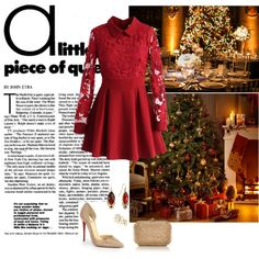 """Christmas Party!"" by nisaninna on Polyvore"