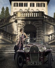 gatsby girls by daniela rettore for ladies magazine.