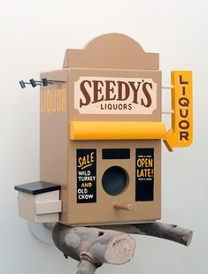 birdshop birdhouse from ★ BIRD HOUSE Plans and Products | Creative Birdhouse Pictures & How to Make Your Own ★