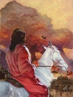 Jesus on a White Horse