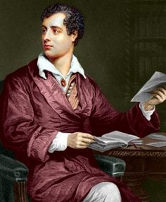 George Gordon, Lord Byron, born on January 22, 1788.