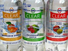 I am so obcessed with these waters! 0 calories, 0 sodium, 0 sugars, 0 caffine, lots of flavor. Like Clearly Canadian, but better flavors! #clear#american