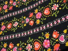 Vintage Pennsylvania Dutch fabric
