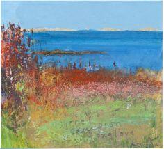 Kurt Jackson Recent Work Kurt Jackson, Landscape Artwork, Abstract Landscape, Abstract Art, Jackson's Art, Artist Art, St Just, Historia Natural, Summer Painting