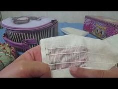 YouTube Cutwork Embroidery, Simple Embroidery, Drawn Thread, Thread Work, Marcia Caires, Plastic Canvas Stitches, Bobbin Lace, Needlework, Diy And Crafts