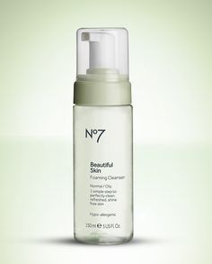 Skin shiny by three PM? Ditch slicks by using No7 Beautiful Skin Foaming Cleanser - Normal / Oily in the AM. For an added oil-fighting boost, let it sit on skin for 30 seconds before rinsing it off. http://www.shopbootsusa.com/product/32502