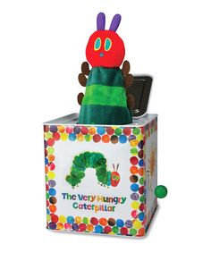 Love this Kids Preferred Very Hungry Caterpillar Jack-in-the-Box by Kids Preferred on #zulily! #zulilyfinds
