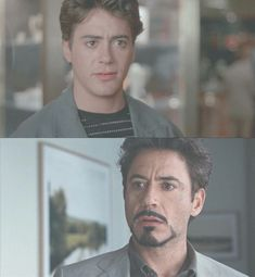 saving this for a future fic wherein Tony time travels and meets his other self.Robert Downey Jr before - Robert Downey Jr after Robert Downey Jr Young, Robert Downey Jnr, Marvel Tony Stark, Iron Man Tony Stark, Young Tony Stark, Tom Holland, Por Tras Das Cameras, Memes Marvel, Anthony Edwards