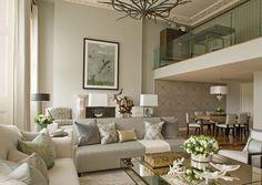 The Lancasters Duplex Apartment - Living Room - Interior Design by Intarya – Interior Design by Intarya