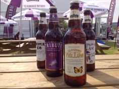 A fine lineup of St Austell Brewery ales at the Royal Cornwall Show 2013