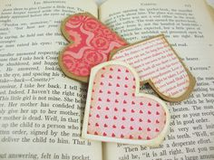 Heart Corner Bookmarks - cute, quick and easy!