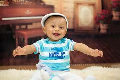 Séance photo bébé 6-9 mois pour Clément - séance photo enfant - shooting en…