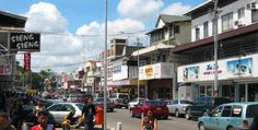 Paramaribo centrum Suriname