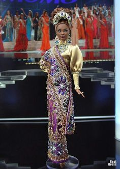 Guyana  ~  She is Beautiful and outfit too  ♥