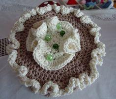 Klorollenhut / Toilettenrollenhut 100% Baumwolle von manufatto auf DaWanda.com