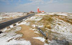Texelse vuurtoren in een winterslandschap / Texel lighthouse in a winter landscape Website: http://justinsinner.nl Webshop: http://justinsinner.werkaandemuur.nl/nl