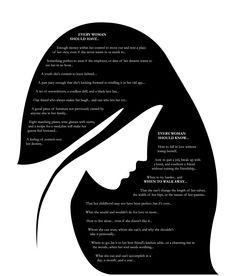 """Every Woman"" ~ Maya Angelou"