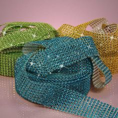 Jewel Ribbon | Diamond Mesh Ribbon | Embellishment Ribbons