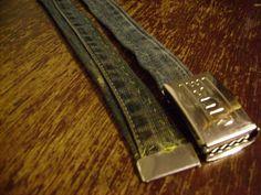 DIY Clothes DIY Refashion  DIY Denim Belt