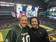 Old friends, and I mean old! http://Smalley.cc/reignite #CottonBowl