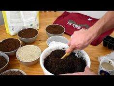 How to Make Inexpensive Sterile Starting & Potting Mix: Peat, Vermiculite & Perlite - No Fungus Gnats