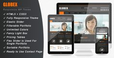 Globex - Responsive Business WordPress Theme - ThemeForest Item for Sale
