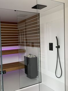 35 The Best Home Sauna Design Ideas You Definitely Like - No matter what you're shopping for, it helps to know all of your options. A home sauna is certainly no different. There are at least different options. Dream Bathrooms, Small Bathroom, Design Sauna, Modern Saunas, Sauna Shower, Indoor Sauna, Steam Sauna, Home Spa, Home Interior