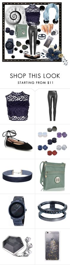 """No time."" by lo-rin ❤ liked on Polyvore featuring Boohoo, Joseph, Gianni Bini, D&M, Miss Selfridge, MKF Collection, Movado, Lana, Stephen Webster and Skinnydip"